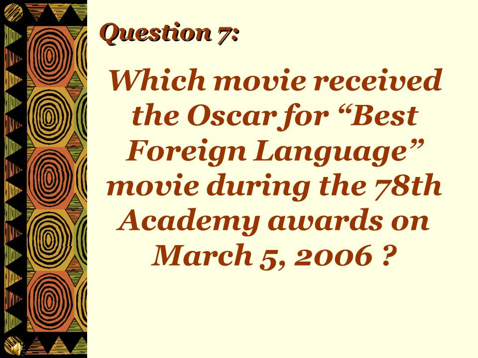 Question 6: Where was the first University ever built in Africa?
