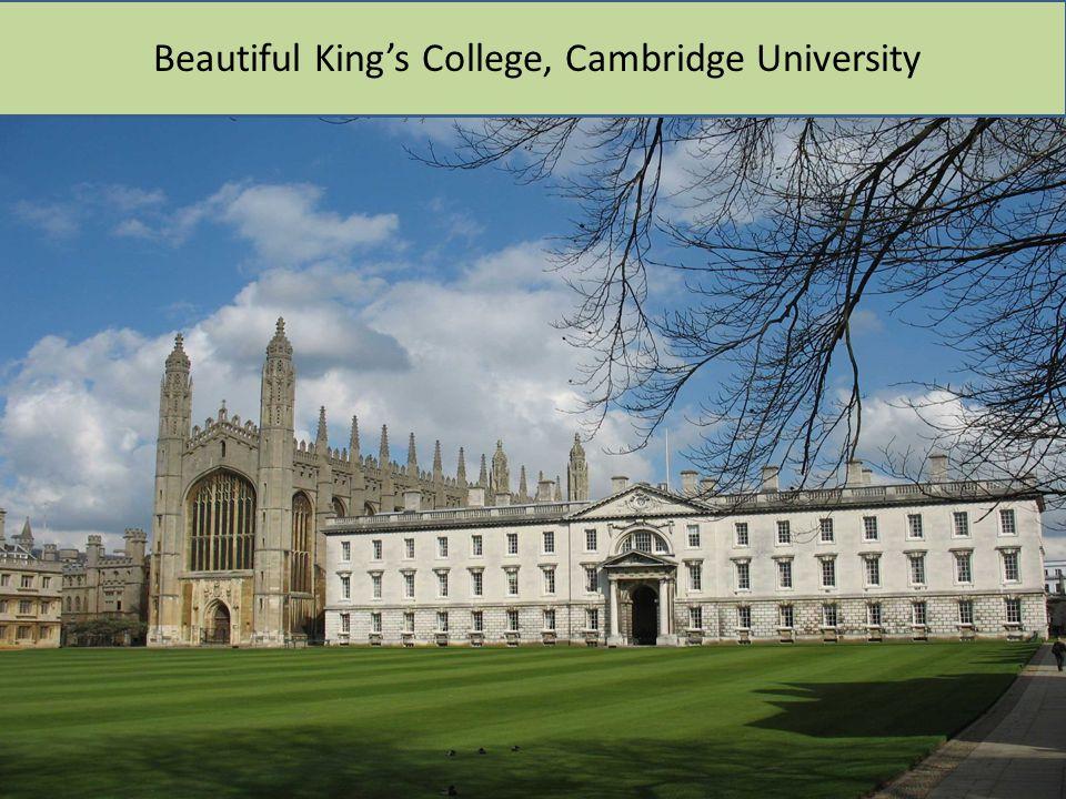 Beautiful King's College, Cambridge University
