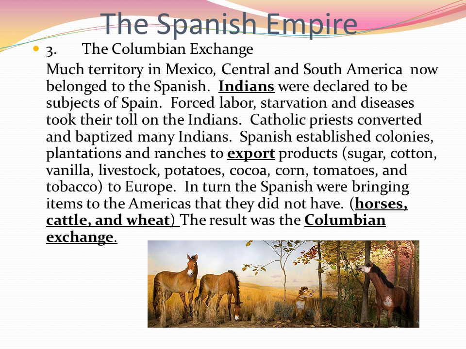 The Spanish Empire 3.