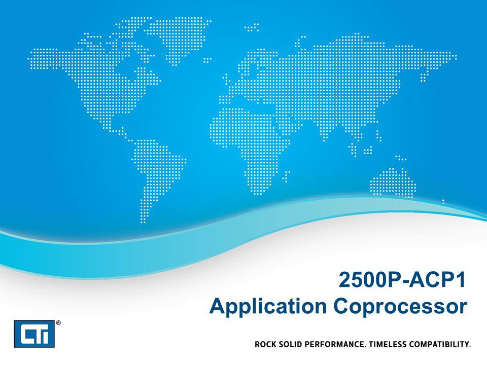 2500P-ACP1 Application Coprocessor