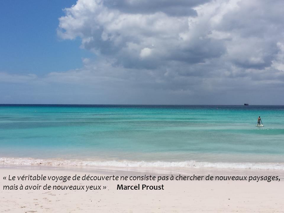 3/26/2014Lycée Victor Schoelcher43 « Le véritable voyage de découverte ne consiste pas à chercher de nouveaux paysages, mais à avoir de nouveaux yeux » Marcel Proust