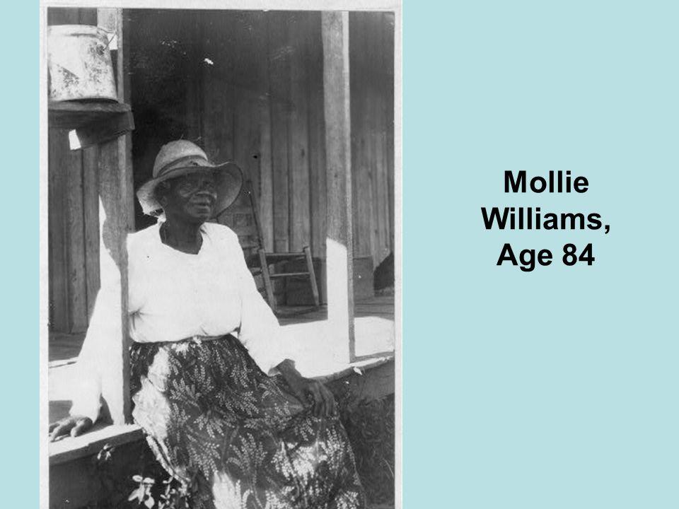Mollie Williams, Age 84