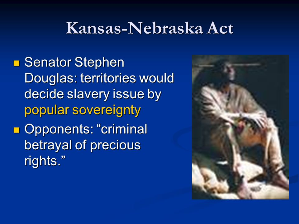 Crisis Turns Violent Both pro and antislavery forces sent settlers to Kansas to fight for control Both pro and antislavery forces sent settlers to Kansas to fight for control Border Ruffian: proslavery person who rode from Missouri to Kansas to battle antislavery forces Border Ruffian: proslavery person who rode from Missouri to Kansas to battle antislavery forces