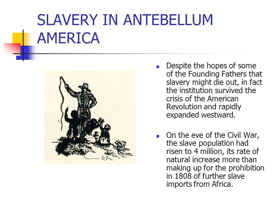 THE ABOLITIONIST MOVEMENT While the issue of slavery influenced the politics of the early Republic, efforts to abolish it waned.