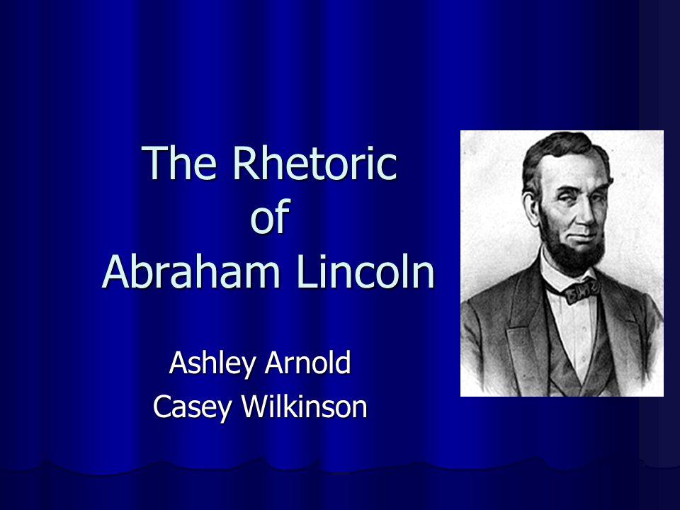 Lincoln's Equality Rhetoric David Zarefsky