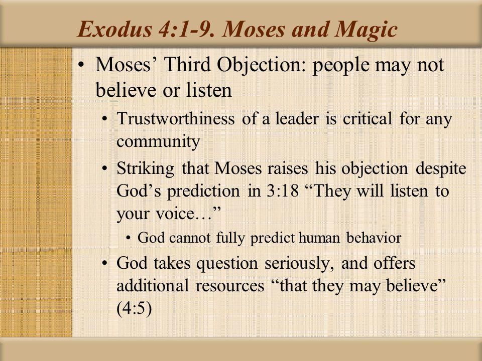 Exodus 4:1-9.