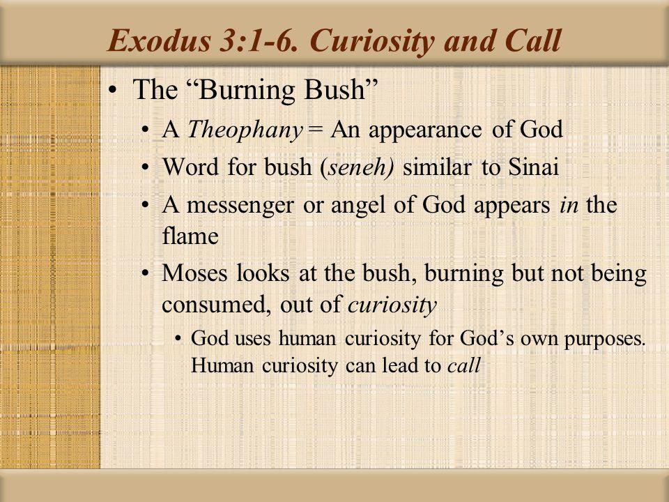 Exodus 3:1-6.