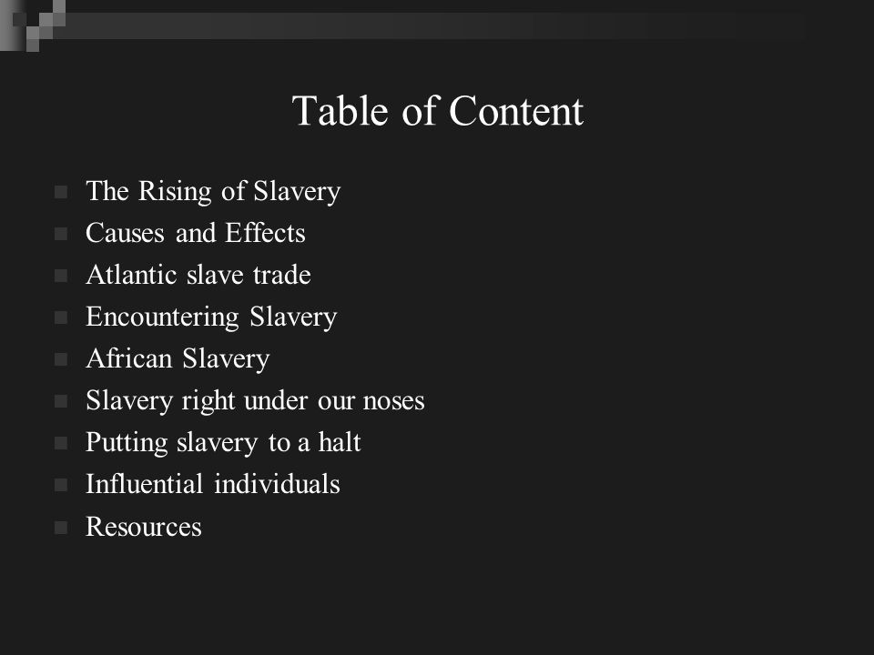 Rising of Slavery 1790 BCE, Mesopotamia ruler publicized code of Hammurabi Ancient Greece and Rome, Christians, Muslims, Africa 1492 Columbus first voyage idealized Atlantic slave trade.