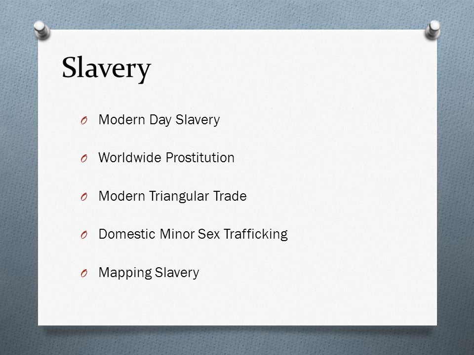 Slavery – Mapping Slavery