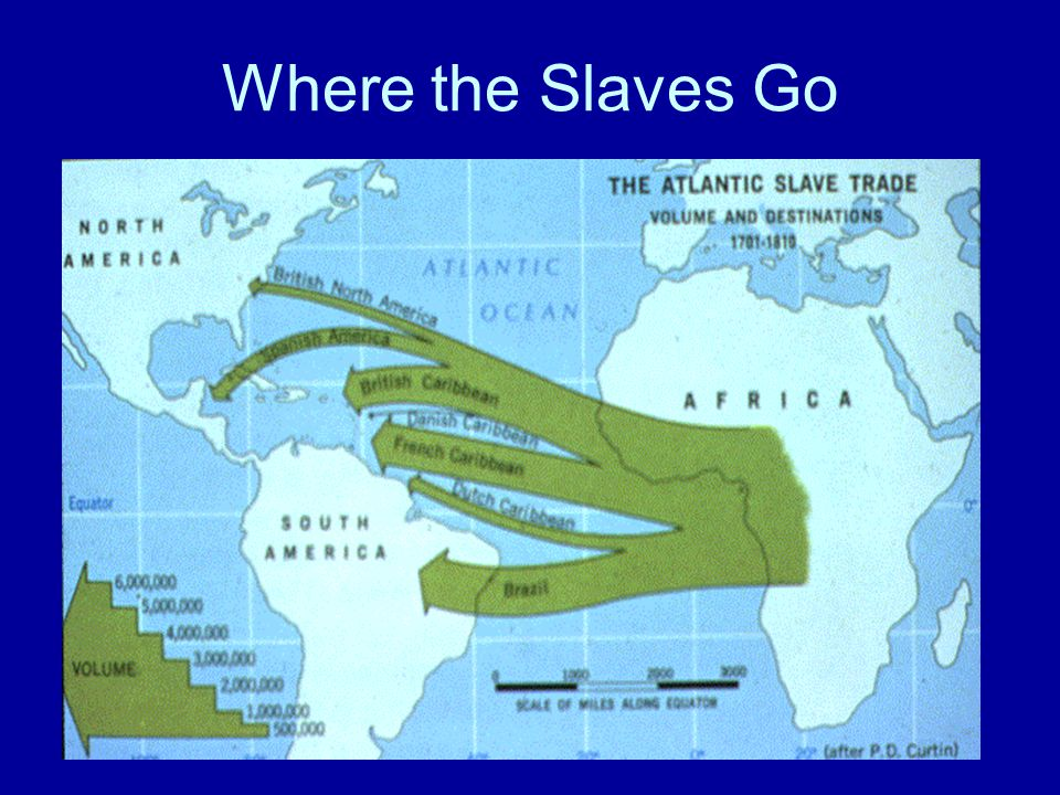 Where the Slaves Go
