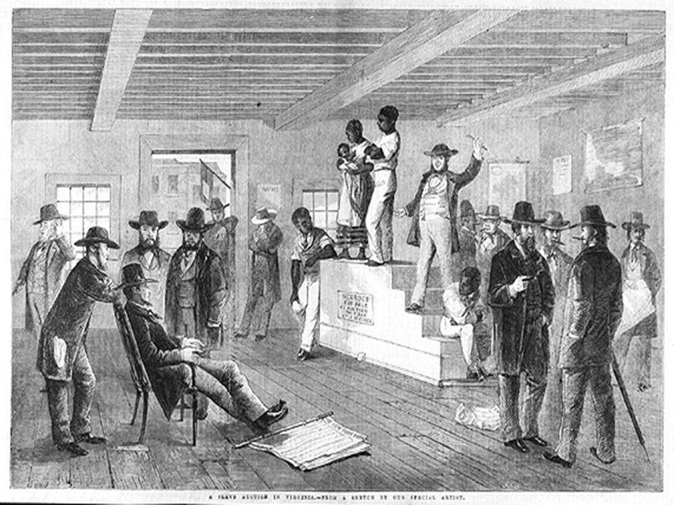 Slave Revolts 1739 – Stono Rebellion (Cato's Conspiracy) 1822 - Denmark Vesey… 1831 - Nat Turner…