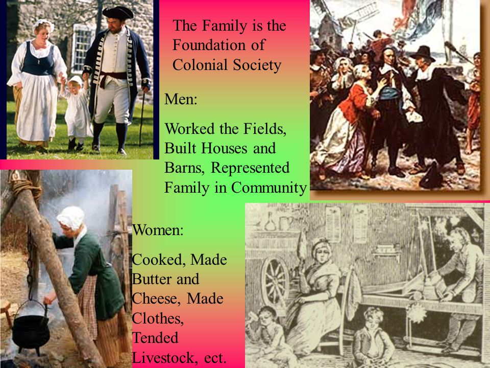 Boys: Indentured Servants or Apprentices Young Women: Maids, Cooks, Nurses, until married.
