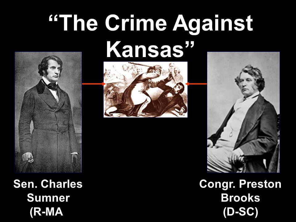 After the passage of the Kansas-Nebraska Act in 1854, the Kansas territory became a battleground.