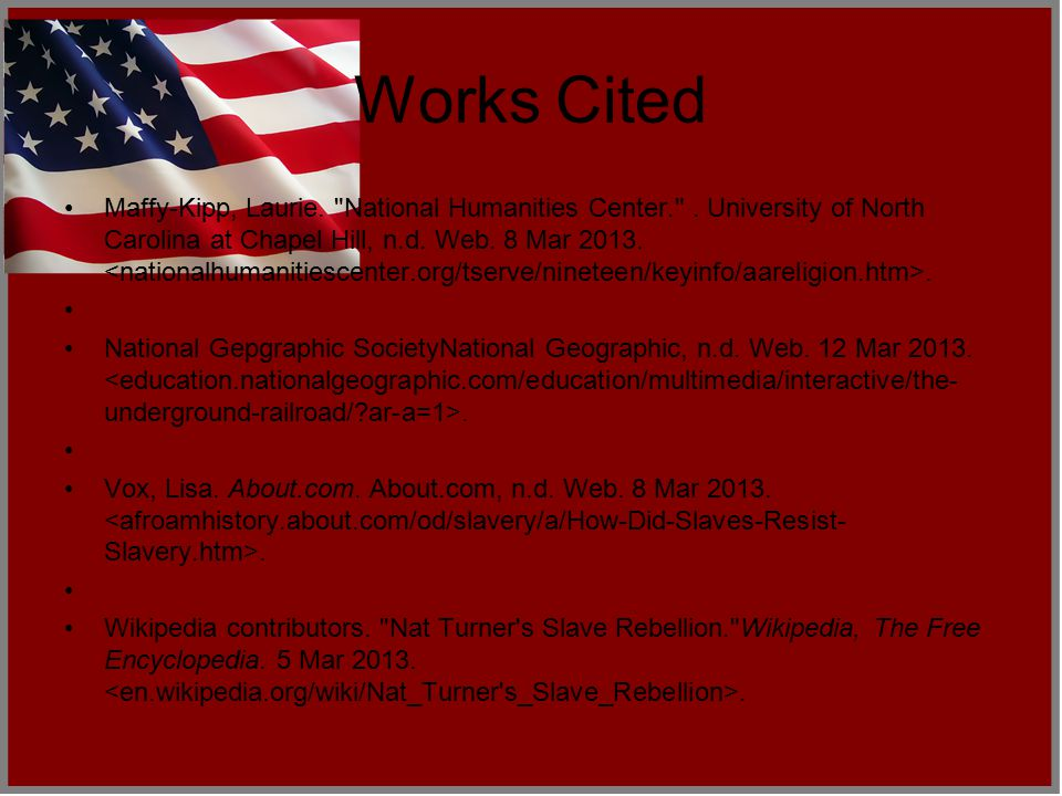 Works Cited Countries Quest. . Microsoft Corporation, n.d.