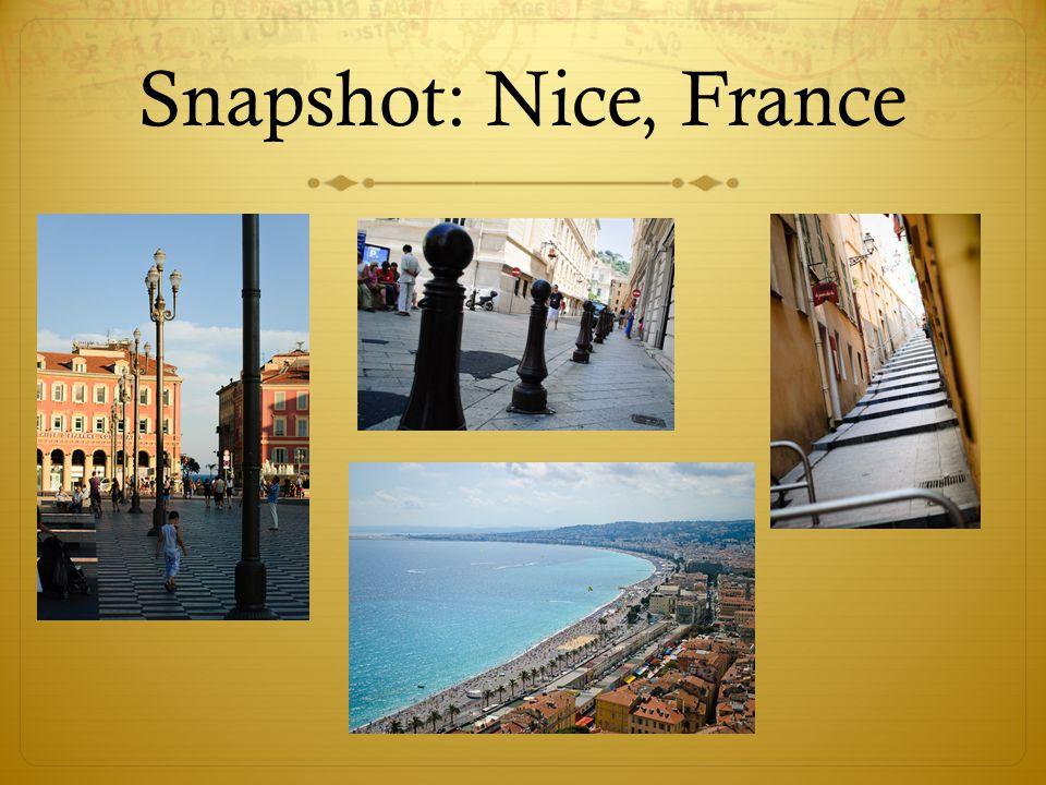Snapshot: Nice, France