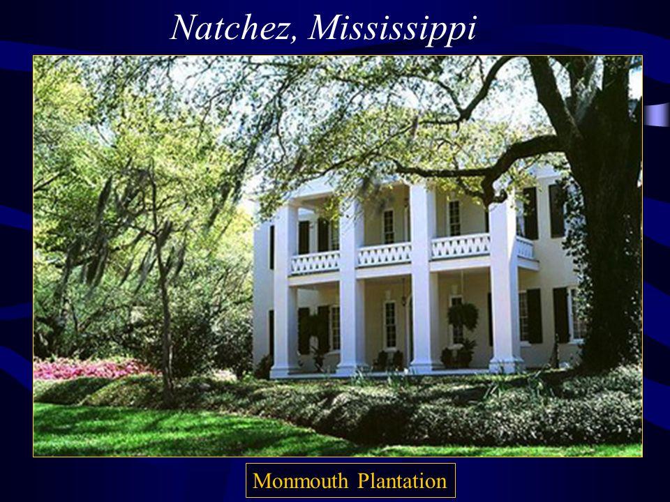 Natchez, Mississippi Monmouth Plantation