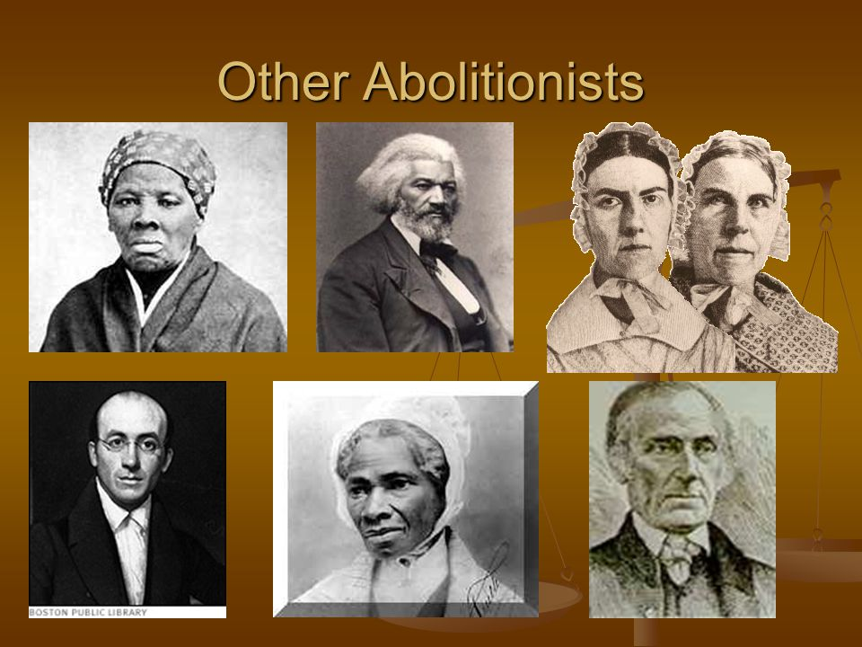 Other Abolitionists