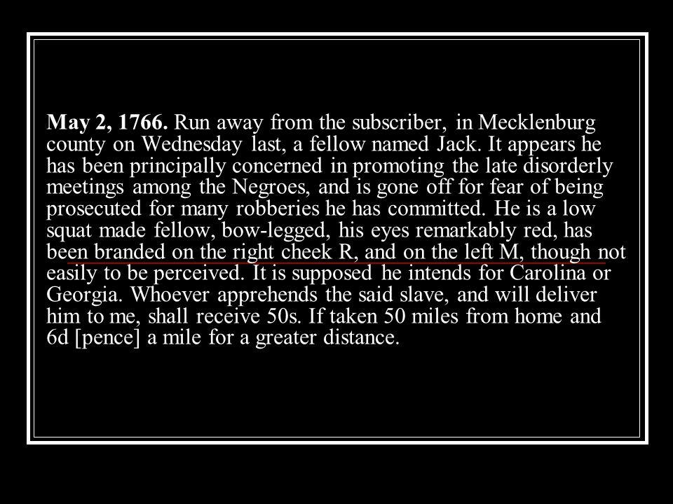 May 2, 1766.
