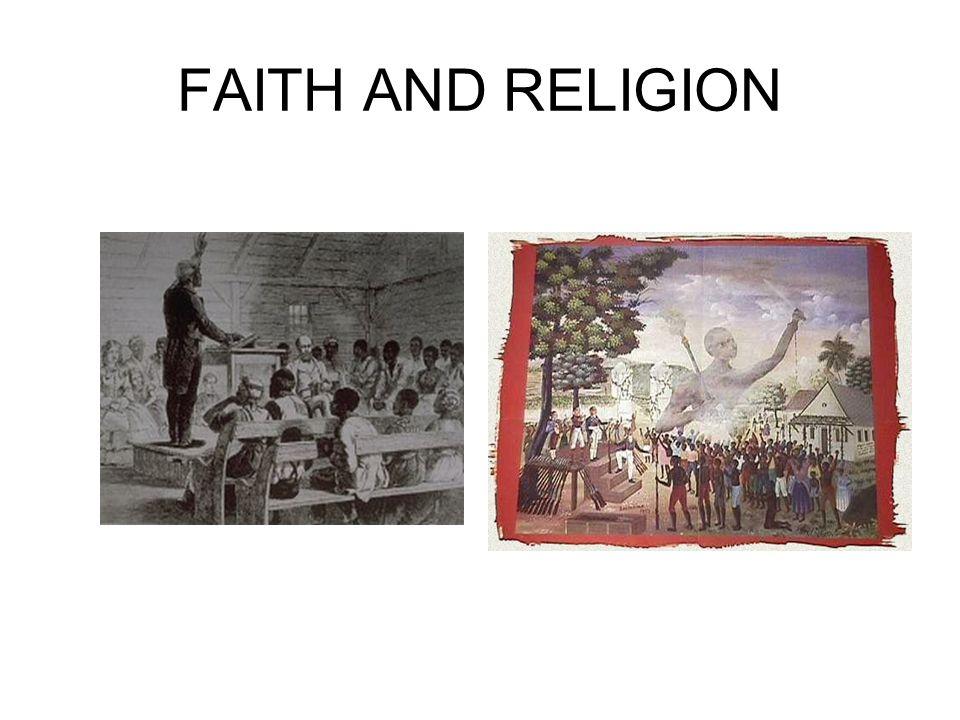 FAITH AND RELIGION