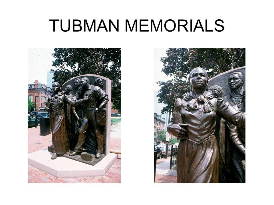 TUBMAN MEMORIALS