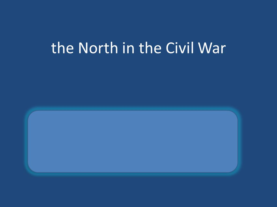 the North in the Civil War Union