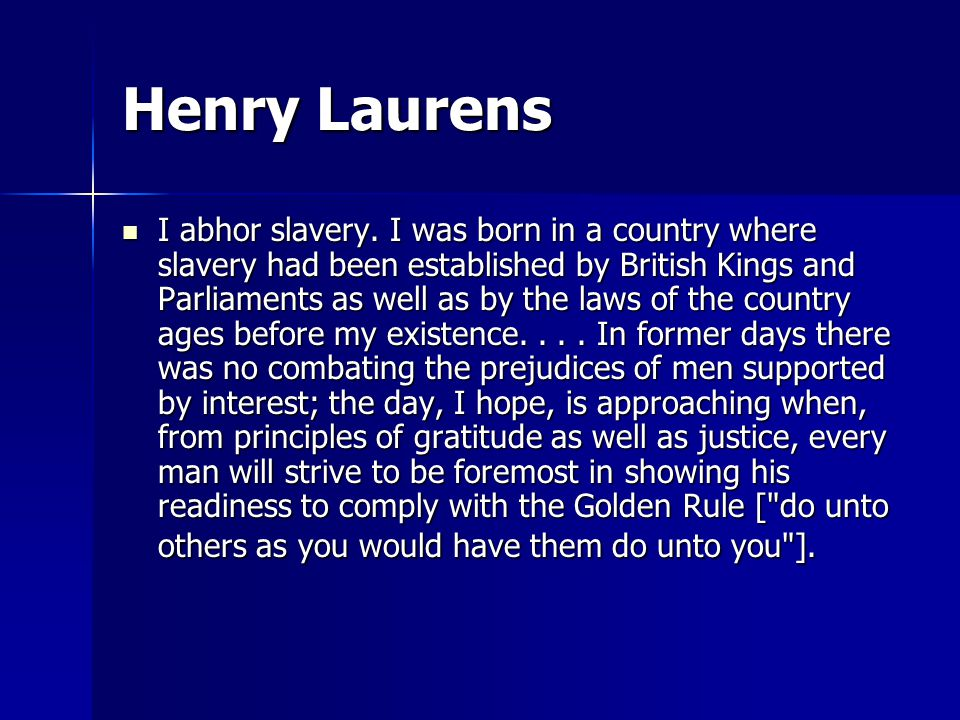 And, a few more… [N]ever in my life did I own a slave.
