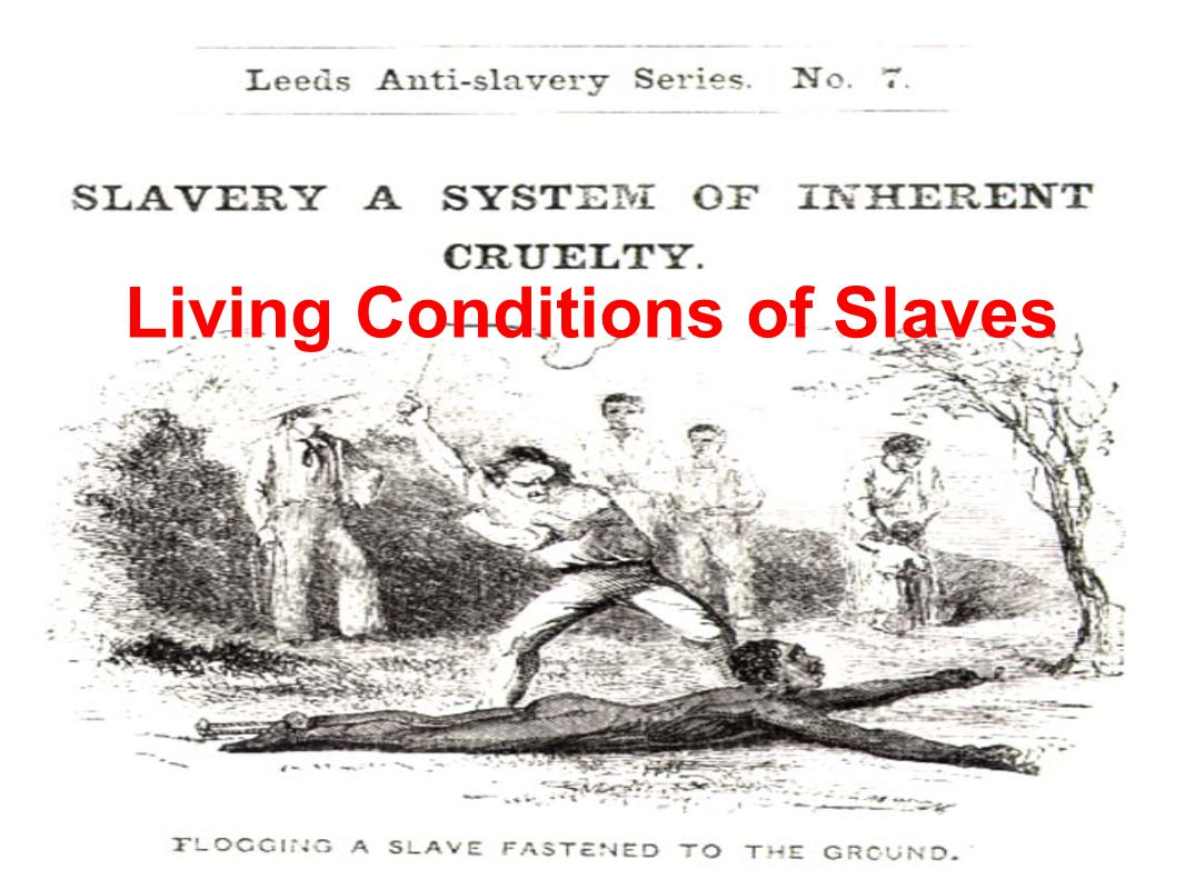 Political: Slavery in the north had disappeared by 1820 Ban of importation of slaves (1808) High tariffs threaten southern cotton production (South Carolina suffered economic decline in 1820s), cotton prices were lowered Jackson becomes president in 1828, supported the south and slavery The North opposed Jackson, wanted to end slavery