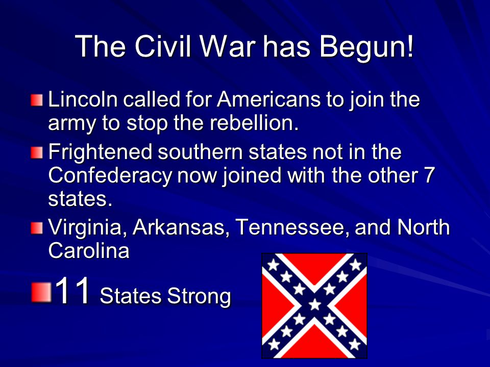 Confederate President Davis Davis decided to take over the fort BEFORE the supply ships arrived. Demanded them to surrender. NEVER! The Confederate tr