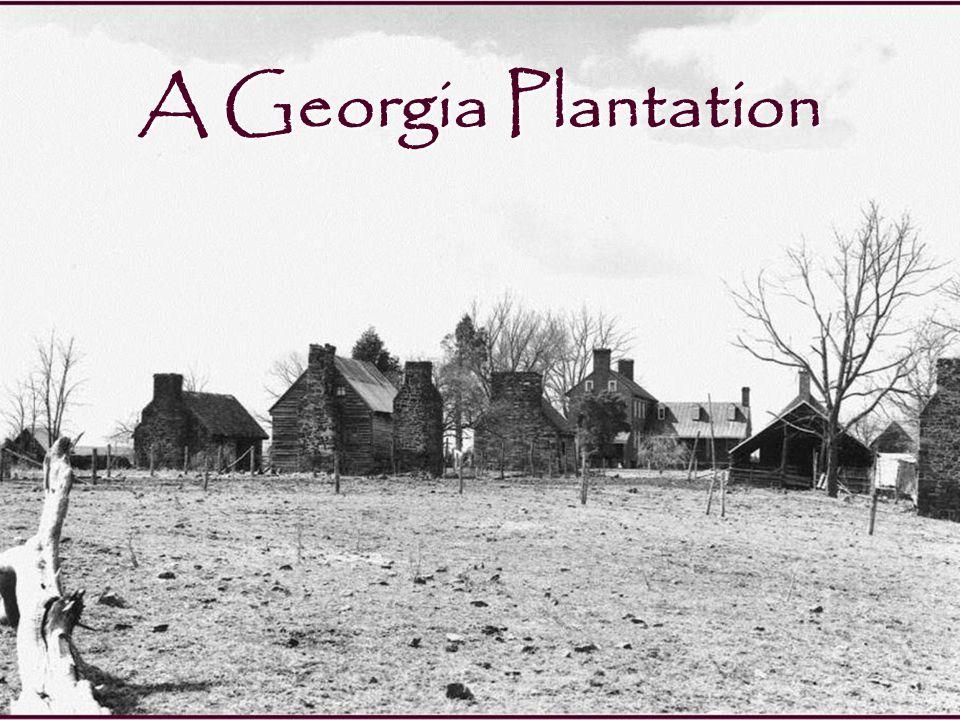 Slave Housing in Savannah