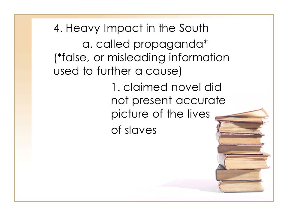 4. Heavy Impact in the South a.