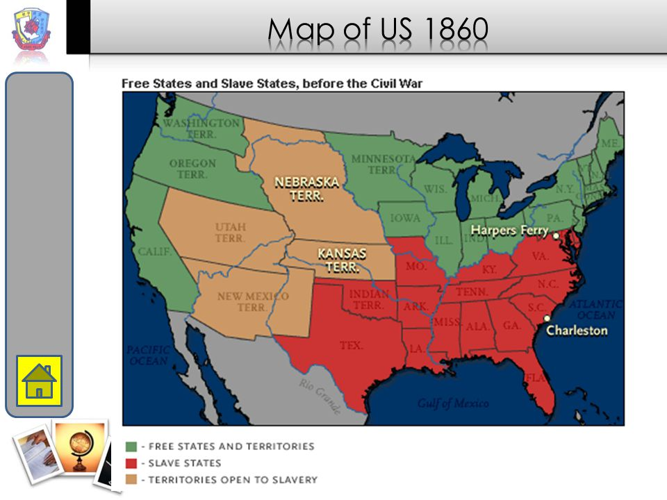 Long Term State's RightsSlaveryNullificationSectionalism Compromise of 1820 Compromise of 1850 Underground Railroad Fugitive Slave Law