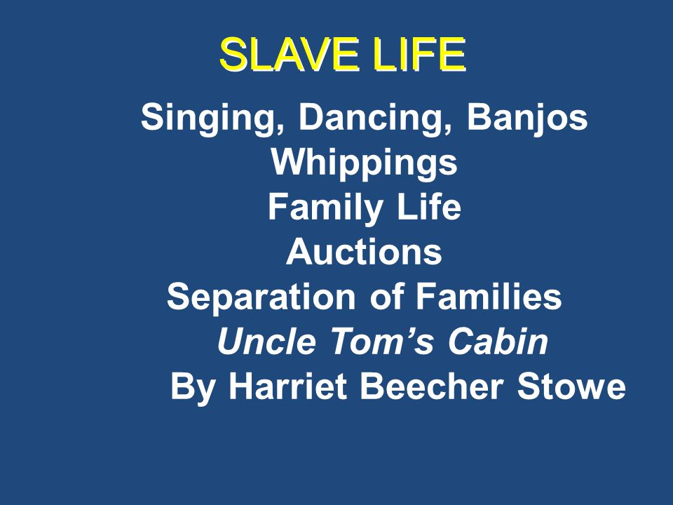 SOCIAL STRUCTURE OF THE SOUTH Free Blacks South: 250,000 in 1860 Mulattoes – emancipated children of white planters Purchased freedom New Orleans – many owned property Third Race North: 250,000 States forbade their entrance Especially hated by the Irish Race Prejudice