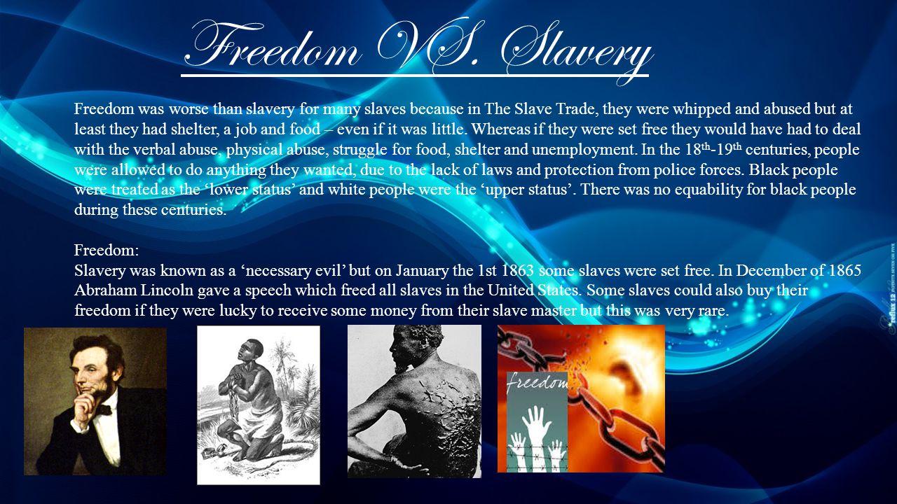 Freedom VS.