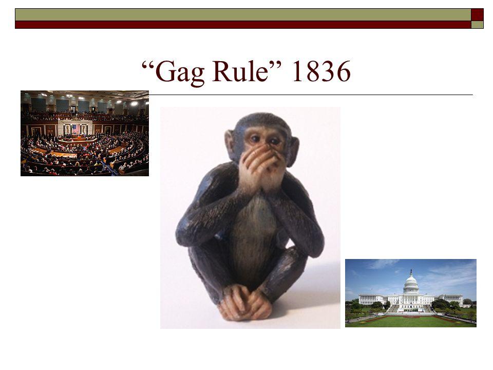 Gag Rule 1836