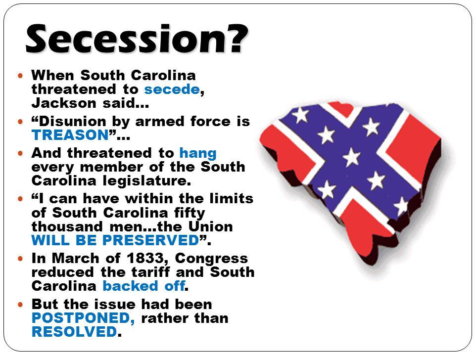 Secession.