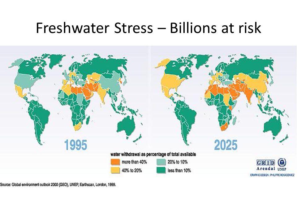 Freshwater Stress – Billions at risk