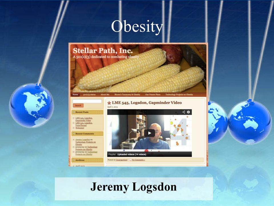 Obesity Jeremy Logsdon