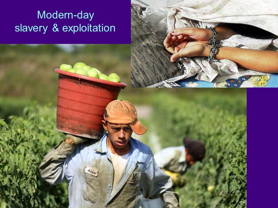 Modern-day slavery & exploitation