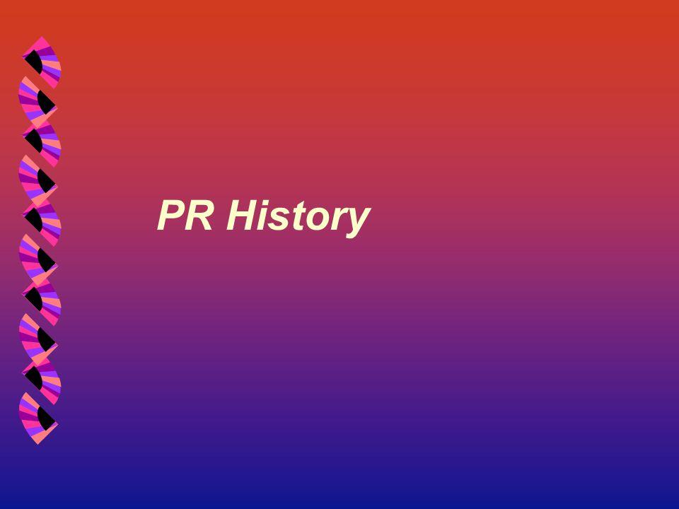 PR History