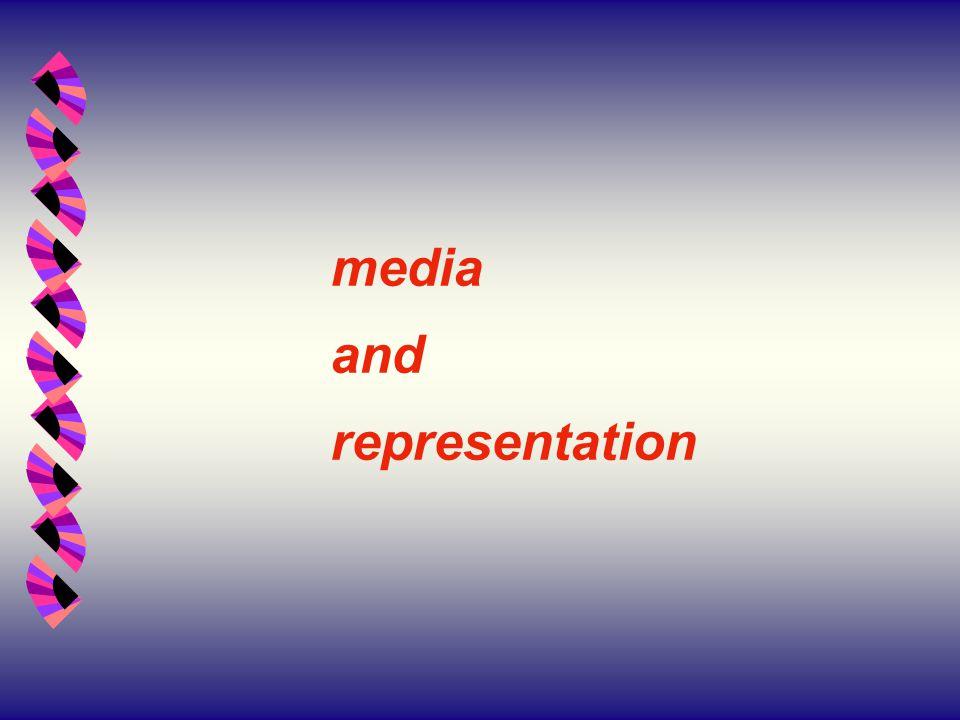 media and representation