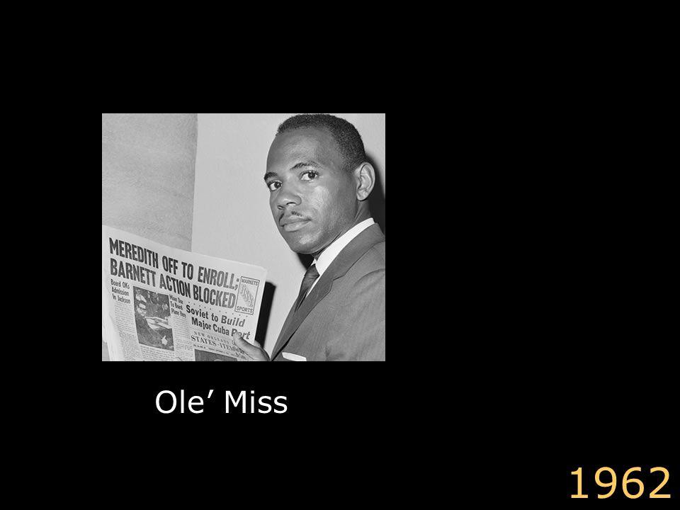 Ole' Miss 1962