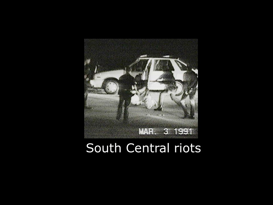 South Central riots