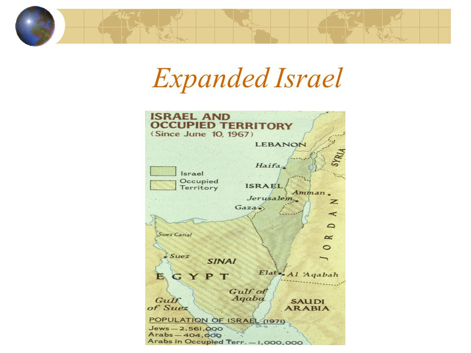 Expanded Israel
