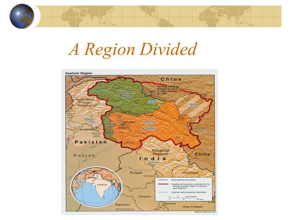 A Region Divided