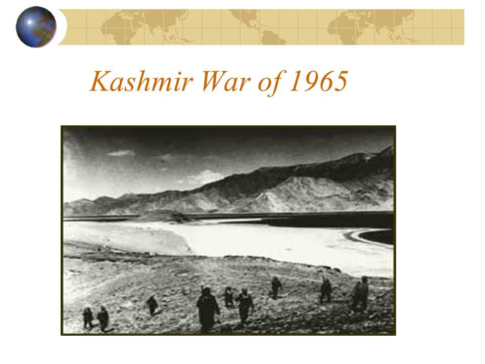 Kashmir War of 1965