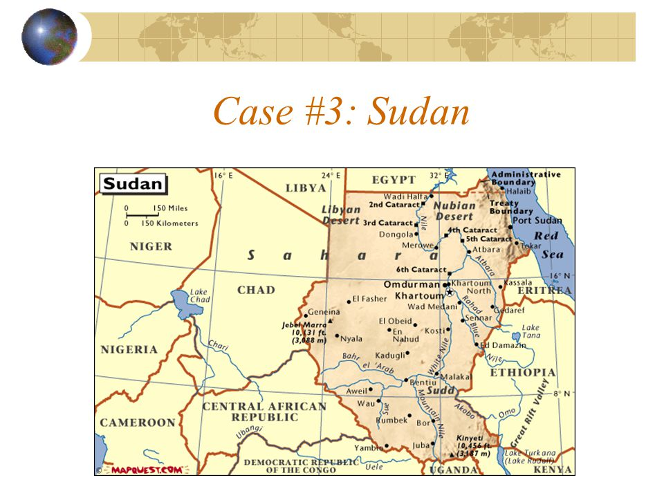 Case #3: Sudan