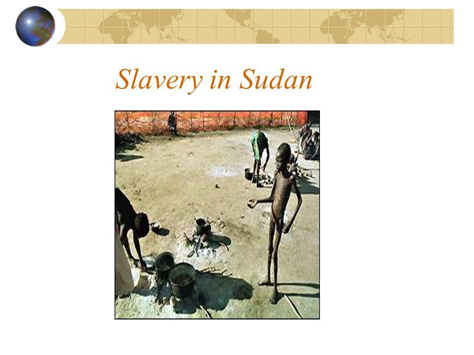Slavery in Sudan