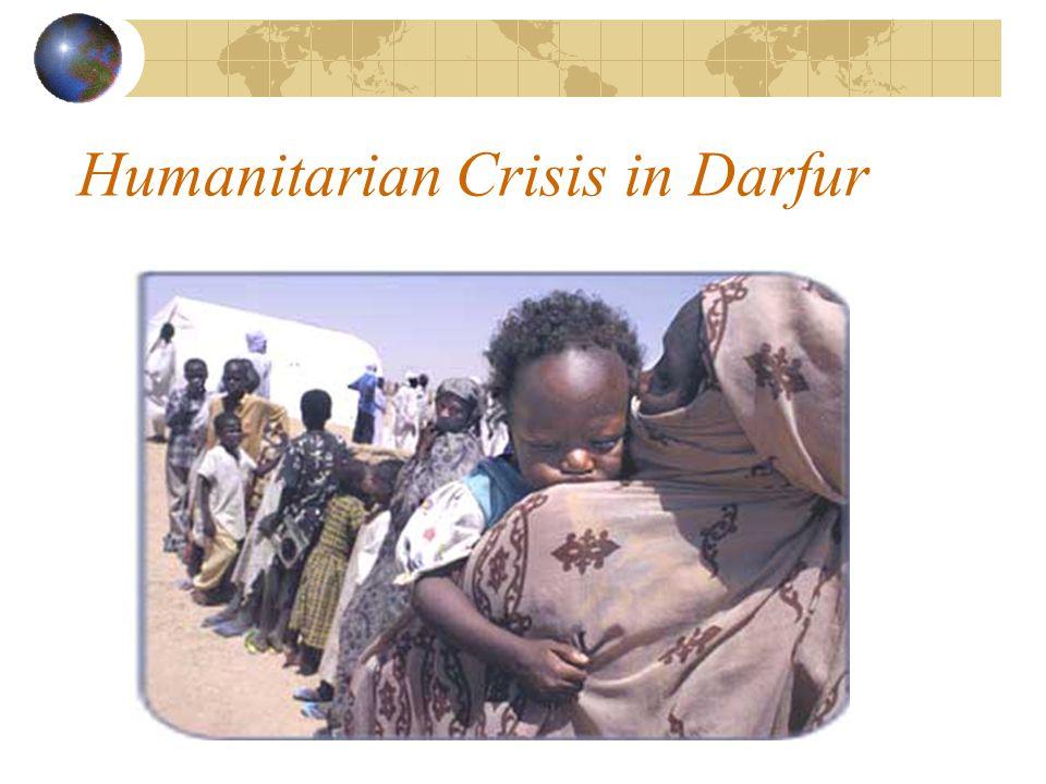 Humanitarian Crisis in Darfur