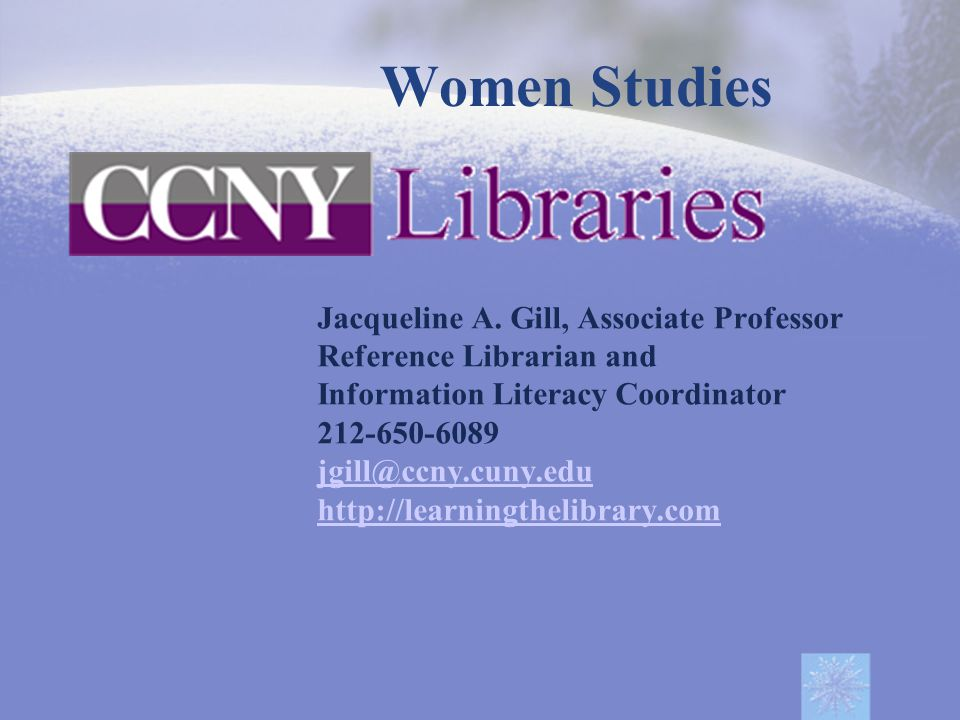 Accessing Databases Proxy Account Principles of Database Searching Subject related databases  Academic Search Complete  Humanities Full Text (WilsonWeb)  JSTOR  Women and Social Movements in the United States 1600-2000 RefWorks Finding Paper Journals E Journals Interlibrary Loans Research by Subject Google Scholar Plagiarism checkers Contents
