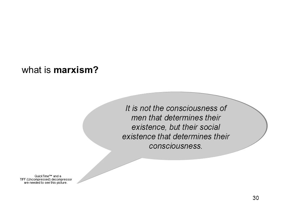 30 what is marxism? introduction to marxism marxism foreign policy It is not the consciousness of men that determines their existence, but their socia